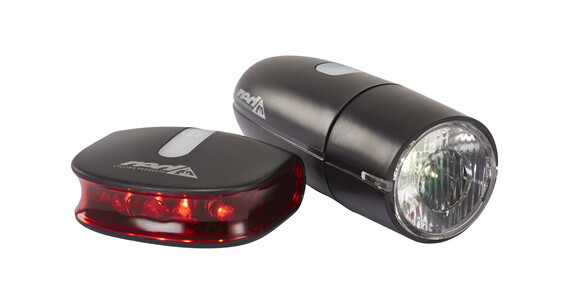 RCP Bright LED Light fietsverlichting zwart